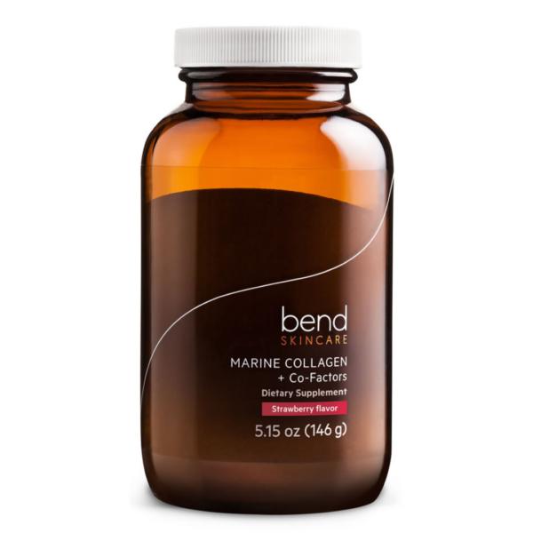 Bend MARINE COLLAGEN + CO-FACTORS – POWDER strawberry